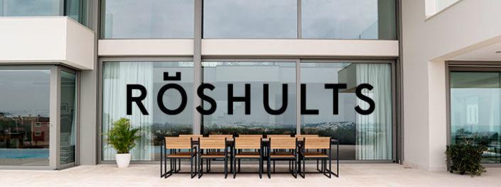 Bilden visar utomhusmöbler från Röshults