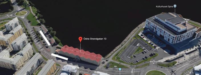 Kartbild över TeleProffs Jönköping